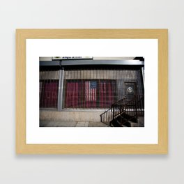 Star Spangled Entangle  Framed Art Print