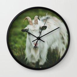 Funny Goat Wall Clock