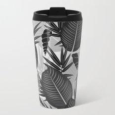 palm leaves 2 Metal Travel Mug