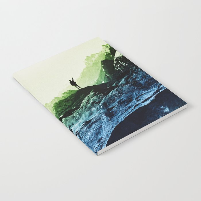 Blue Contact Notebook