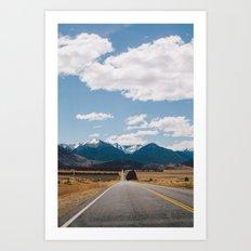 Road to Arthur's Pass II Art Print