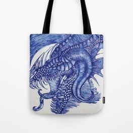 Dragon Intruder Tote Bag