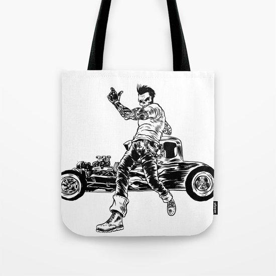 Dead Racer Tote Bag