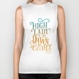 High Lady Dawn Court ACOTAR Biker Tank