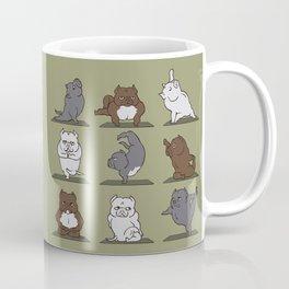 The American Bully Yoga Coffee Mug