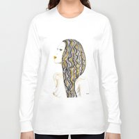 rasta Long Sleeve T-shirts featuring yellow rasta by kaju.ink