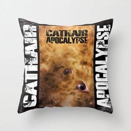 Cathair Apocalypse Book 1 Cover Throw Pillow