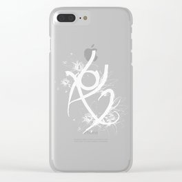 Fearless Rune Clear iPhone Case