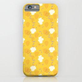 Abstract yellow Strawberry Pattern iPhone Case