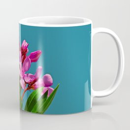Pretty in pink under turquoise sky Coffee Mug