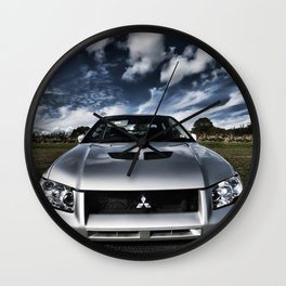 Mitsubishi Lancer Evolution 7 Wall Clock