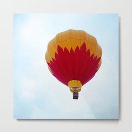 Balloon Fire Metal Print