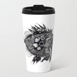 Fish Illustration Travel Mug
