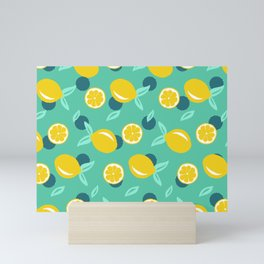 Lemon dots #society6 #decor #buyart Mini Art Print