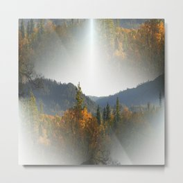 May the White Light bless us all.... Metal Print