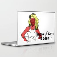blondie Laptop & iPad Skins featuring Debbie Straw-Berry   Blondie by Pattavina