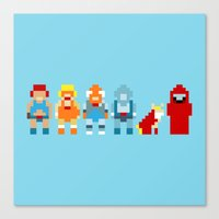 thundercats Canvas Prints featuring Thundercats by Pixel Icons