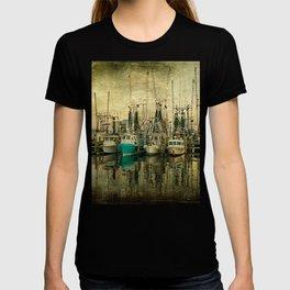 Shrimp Boat Lineup T-shirt