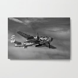 North American B-25 Mitchell Metal Print