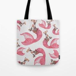 Peach The Purrmaid (Textured BG) Tote Bag