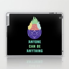 Zootopia - Anyone Can Be Anything [BLACK] Laptop & iPad Skin