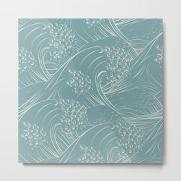 Waves no.01 Metal Print