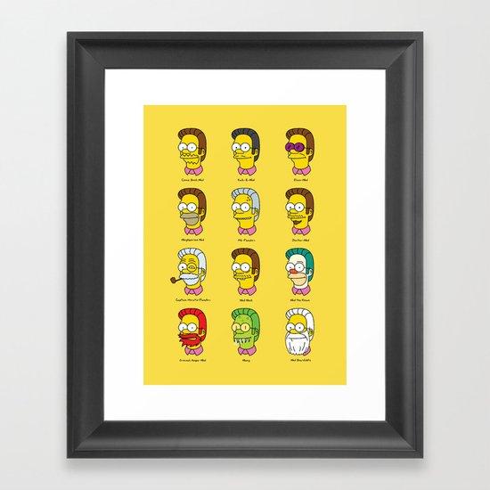 Flanderdoodles Framed Art Print