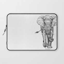 African Elephant Laptop Sleeve