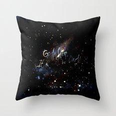 go to sleep,it'll be okay Throw Pillow