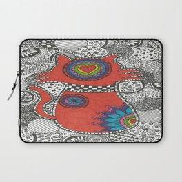 Kitty-tangle Laptop Sleeve