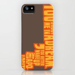 Shoot me in a dream iPhone Case