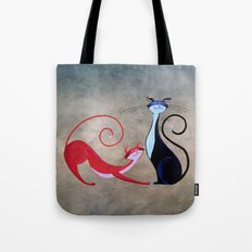 Cat Painting 14 Tote Bag