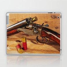 Old Double Barrel Stevens Laptop & iPad Skin