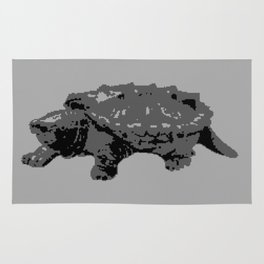 Turtle in the Mist Rug