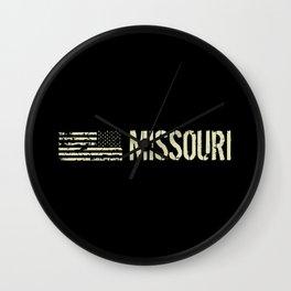 Black Flag: Missouri Wall Clock