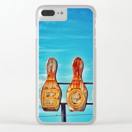Valley Bowl - Madera, CA Clear iPhone Case