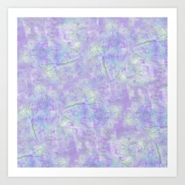 Abstract Tie Dye #7 Art Print
