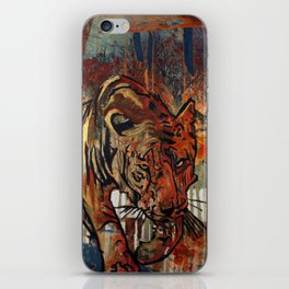 Walk in the woods iPhone Skin