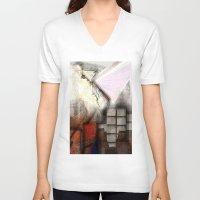 inspiration V-neck T-shirts featuring Inspiration  by John Hansen