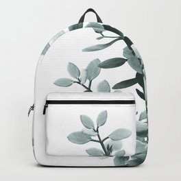Eucalyptus Leaves Green Vibes #1 #foliage #decor #art #society6 Backpack