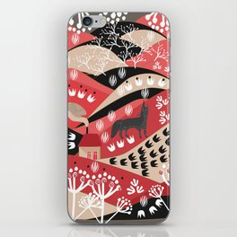 Wolf's Promise Land iPhone Skin
