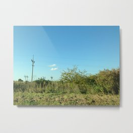 Just a touch of civilization  Metal Print