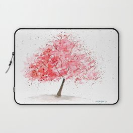 Kwanzan Cherry Tree Laptop Sleeve