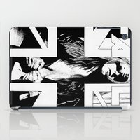 the fault iPad Cases featuring FAULT by Kelsey Crenshaw