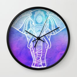 Indian Elephant #2 Wall Clock