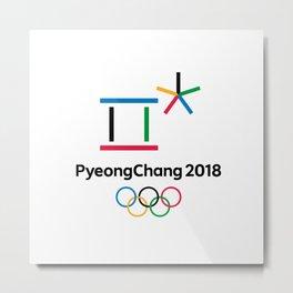 PyongChang 2018 Logo Metal Print
