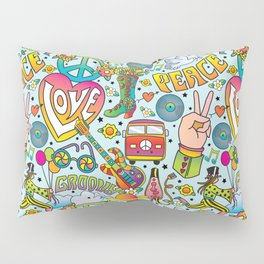 Peace&Love Pillow Sham