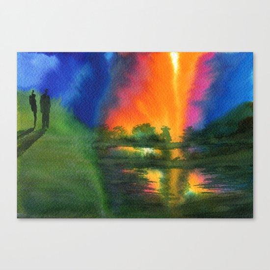 Witnesses Canvas Print