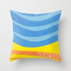 Sea - Sud/Est Throw Pillow