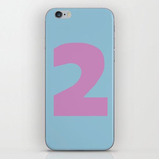Number 2 iPhone Skin
